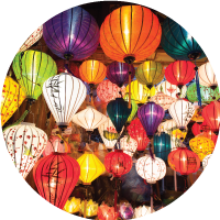 Paper lanterns in different colors all released. Sessions are led by a professional inter-culturalist, who customizes the program to the needs of the employee and family.